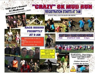 List Of Mud Runs Amp Obstacle Races In Washington D C