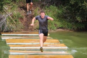 Johns Island Mud Run Floating Bridge