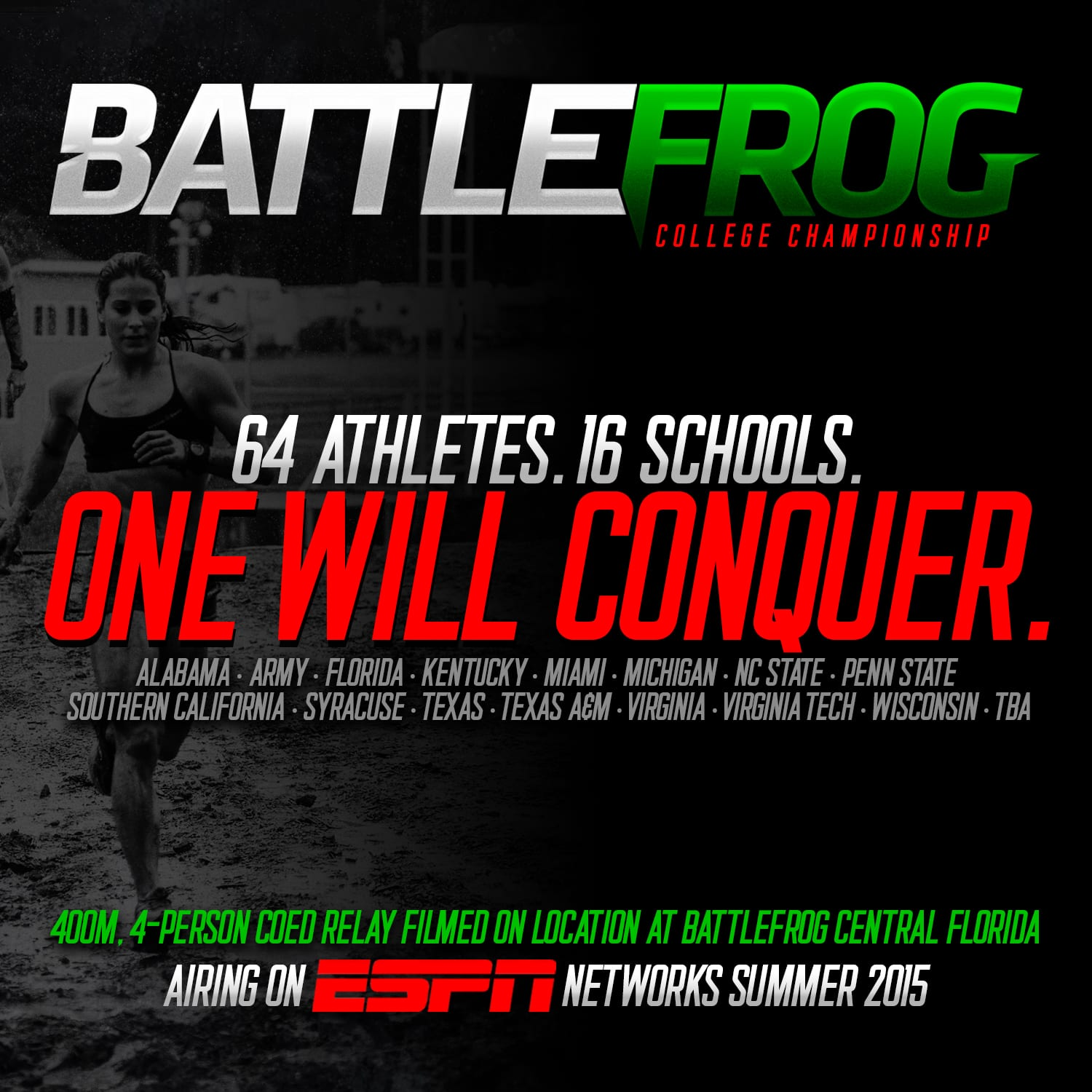 Battlefrog Announces A Partnership With Espn Mud Run