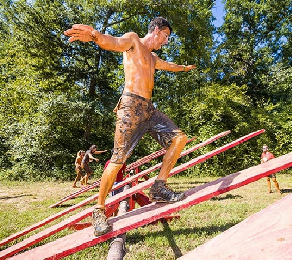 Beautiful Next Up On The List Of New Obstacles We Faced Was Tipping Point. This Was A  Large Seesaw That You Had To Run Up To The Midpoint And Get The Seesaw To  ...