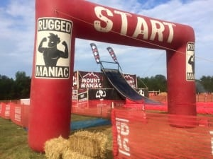 Start Line and Mount Maniac
