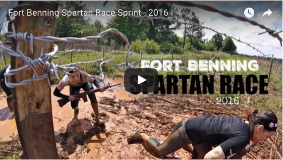 Spartan Race Fort Benning Military Sprint