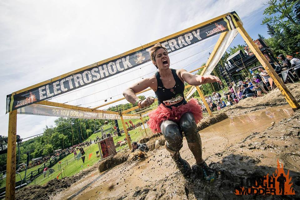 Obstacleweek Begins With Electroshock Therapy Mud Run