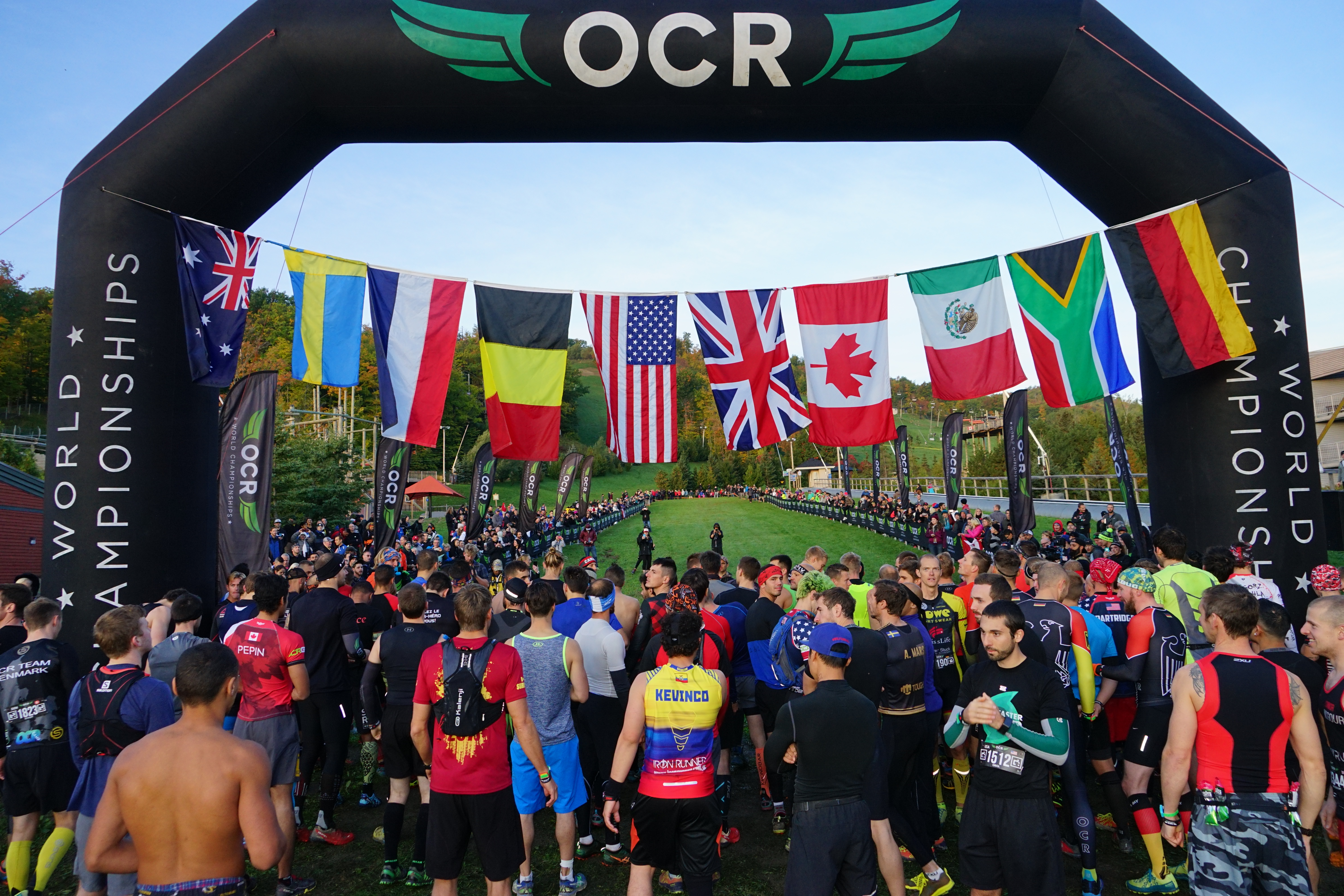 OCR world Championships Coverage