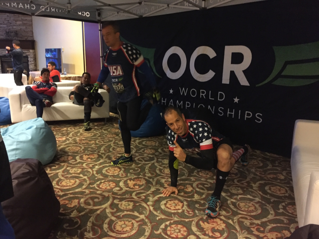 OCR World Championships Athlete Chill Zone