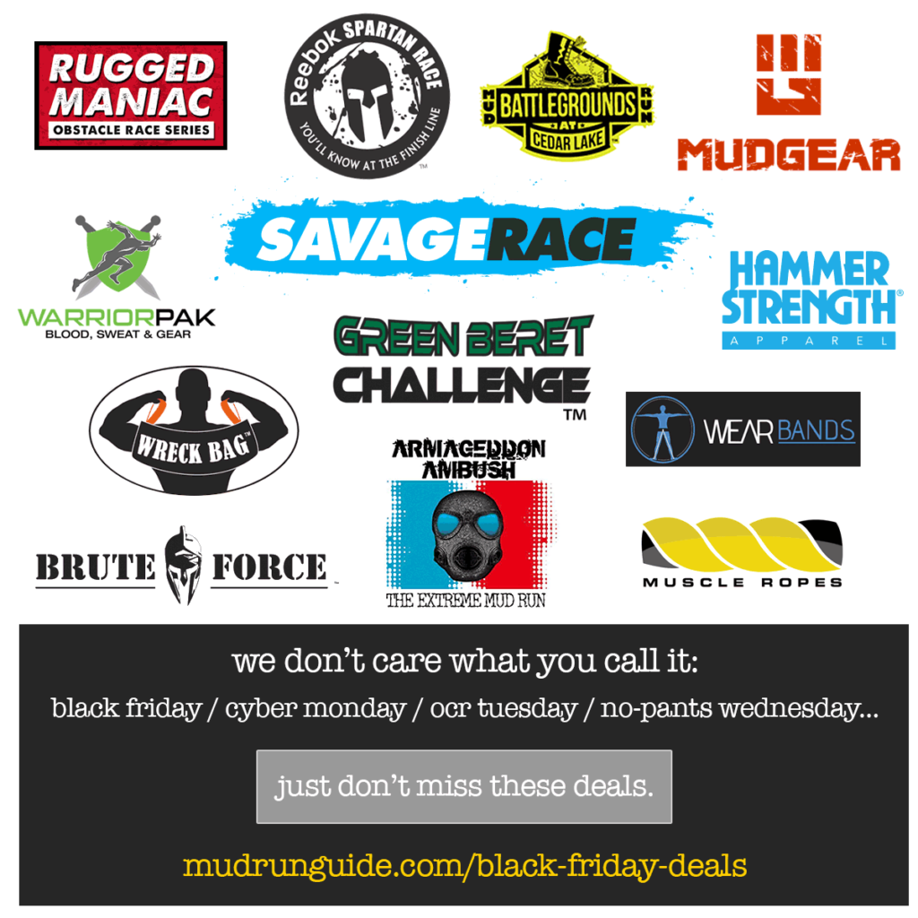 OCR Black Friday Deals