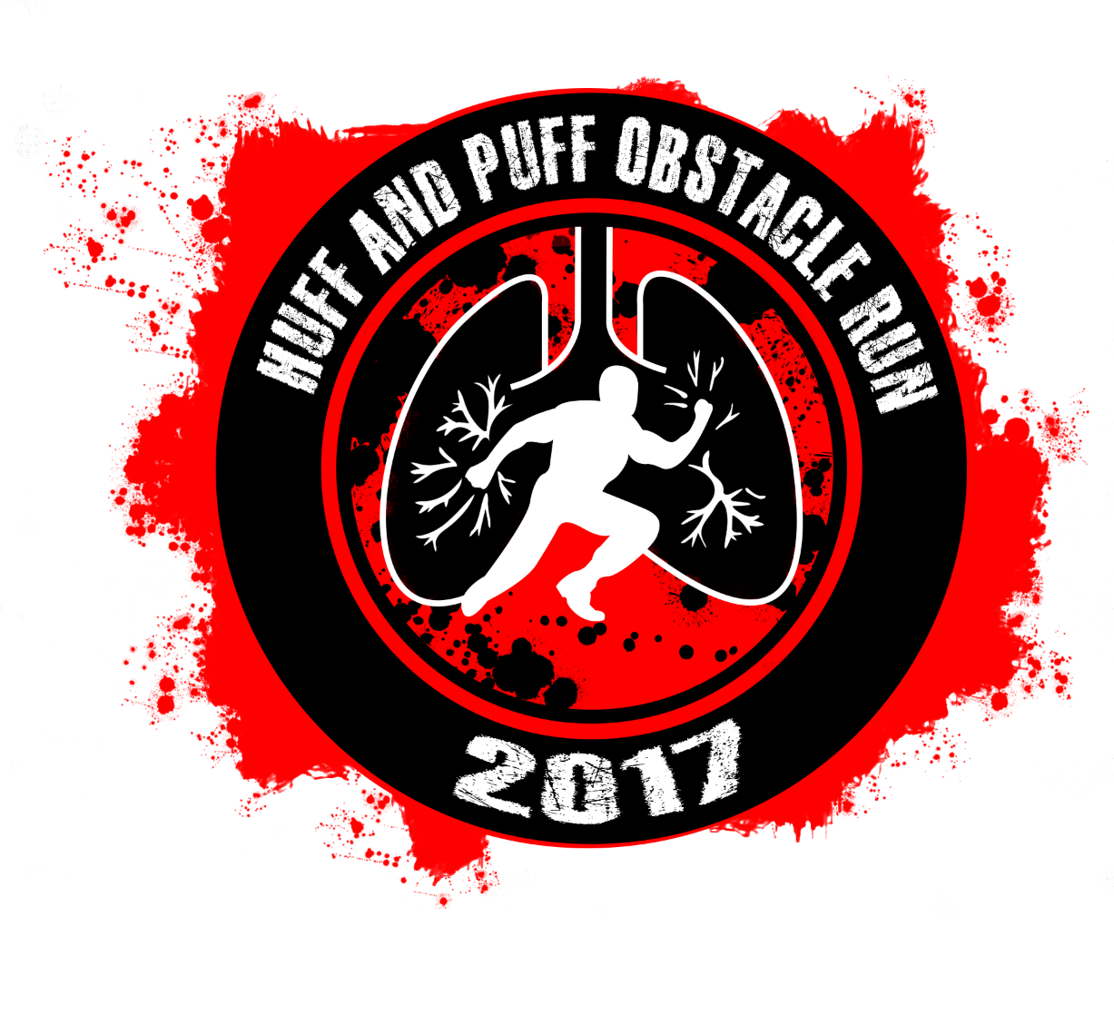 Huff And Puff Obstacle Run