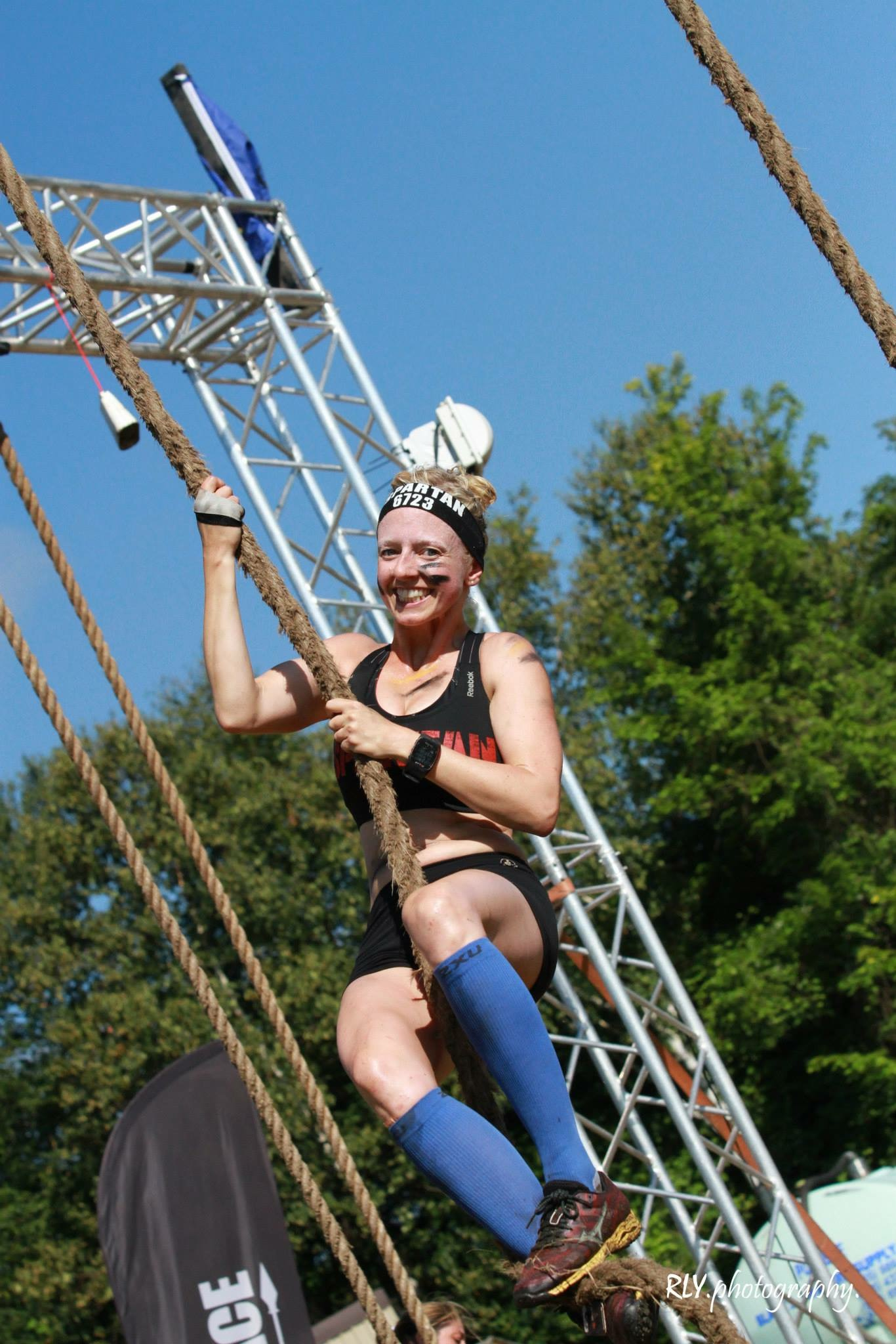 Badass Women Of Ocr Robyn Baldwin Mud Run Obstacle
