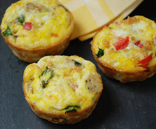 You may see extra liquid in the bottom of your storage container, and these healthy egg muffins are really tender and